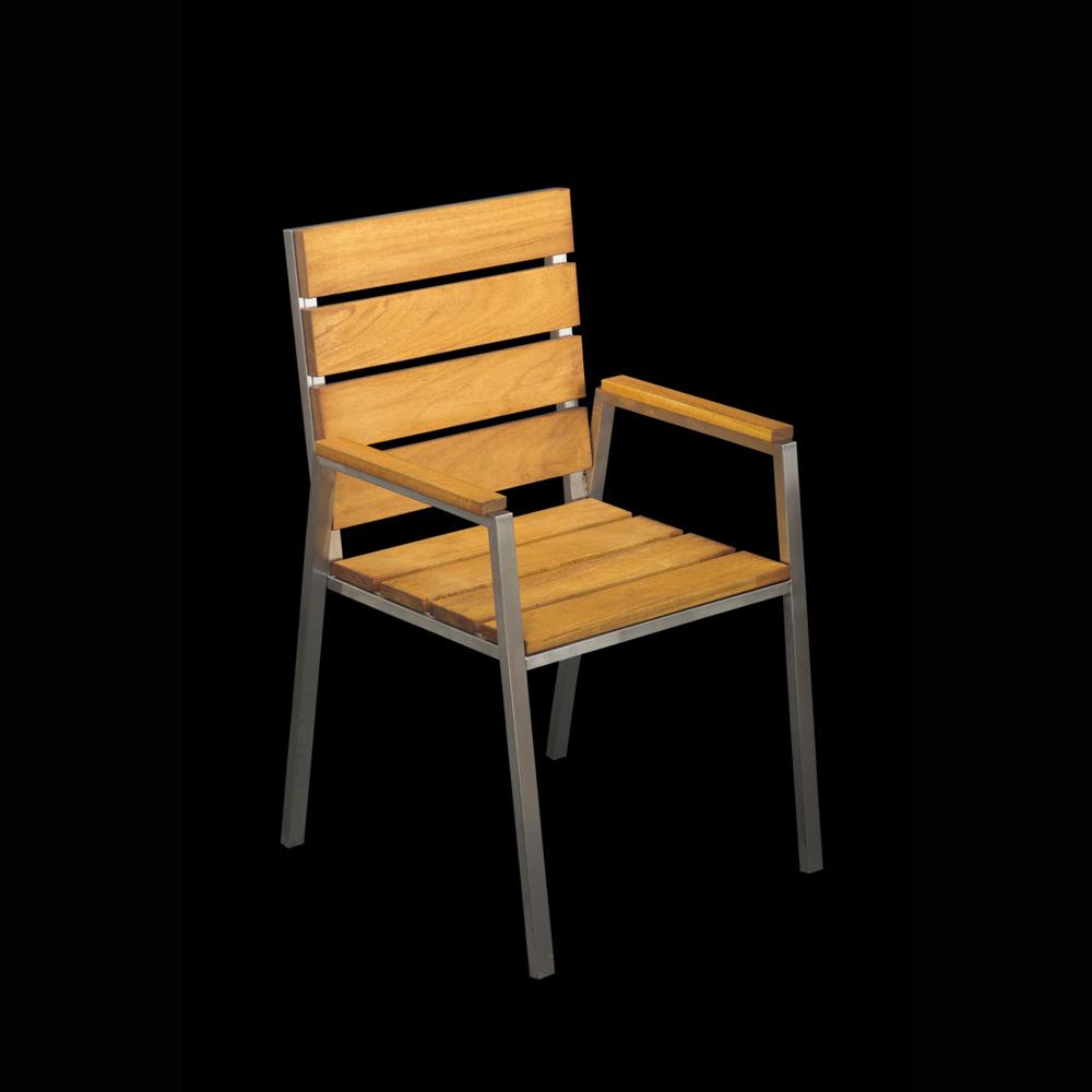 Rozsdamentes terasz szék